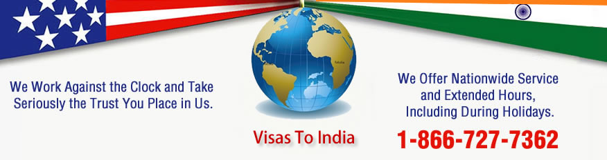 Indian Visa - Visa to India - Visa for India